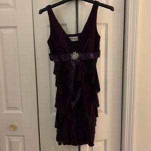 Betsy and Adam purple dress